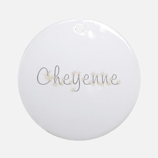 Cheyenne Spark Round Ornament