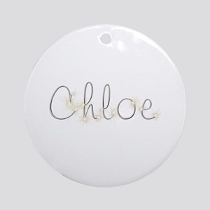 Chloe Spark Round Ornament