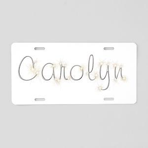 Carolyn Spark Aluminum License Plate