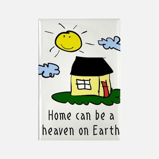 Heaven on Earth Rectangle Magnet