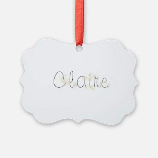 Claire Spark Ornament