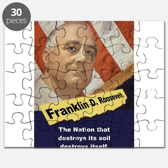 The Nation That Destroys - FDR Puzzle