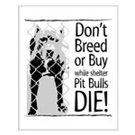 Pit Bulls: Don't Breed Small Poster