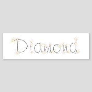 Diamond Spark Bumper Sticker