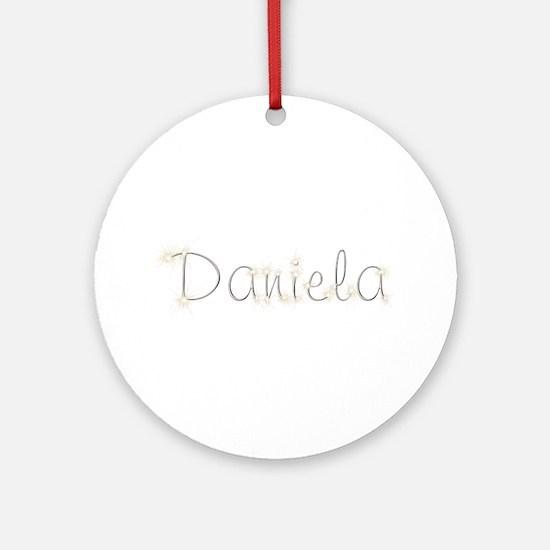 Daniela Spark Round Ornament