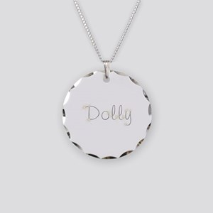 Dolly Spark Necklace Circle Charm