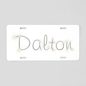 Dalton Spark Aluminum License Plate