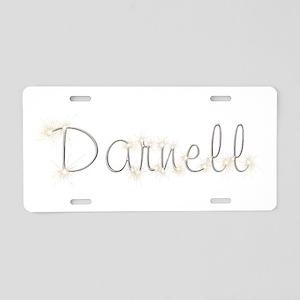 Darnell Spark Aluminum License Plate