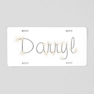Darryl Spark Aluminum License Plate