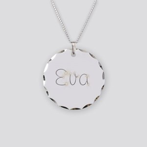 Eva Spark Necklace Circle Charm