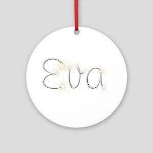 Eva Spark Round Ornament