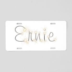 Ernie Spark Aluminum License Plate