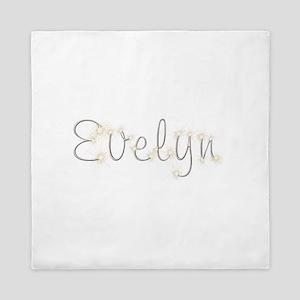 Evelyn Spark Queen Duvet