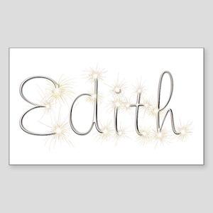 Edith Spark Rectangle Sticker