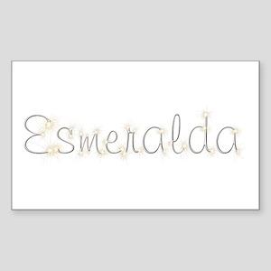 Esmeralda Spark Rectangle Sticker