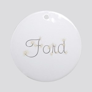 Ford Spark Round Ornament