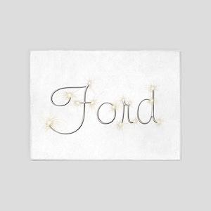 Ford Spark 5'x7' Area Rug
