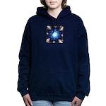 Techno-Blue Starburst Sweatshirt