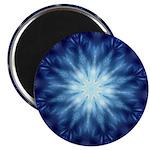 Techno-Blue Starburst Magnets