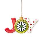 Mint Roads Joy Ornament