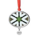 Mint Roads Oval Year Ornament
