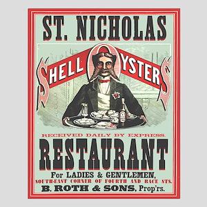 St. Nicholas Restaurant 1873 Small Poster