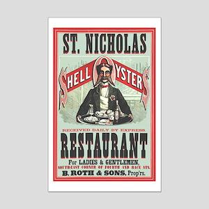 St. Nicholas Restaurant 1873 Mini Poster Print