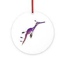 Weedy Sea Dragon fish Ornament (Round)
