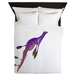 Weedy Sea Dragon fish Queen Duvet