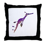 Weedy Sea Dragon fish Throw Pillow