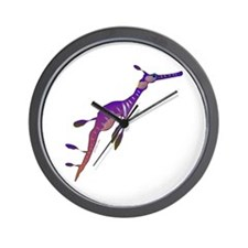 Weedy Sea Dragon fish Wall Clock
