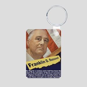 Our Flag - FDR Aluminum Photo Keychain