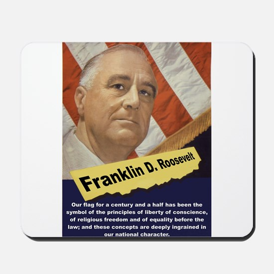 Our Flag - FDR Mousepad