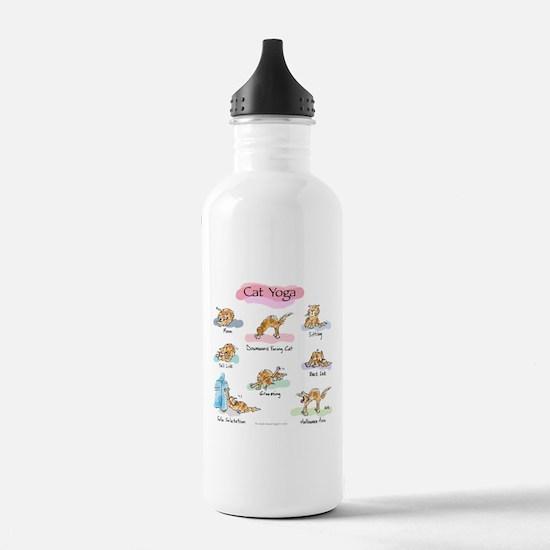 Cat YOGA POSES Water Bottle