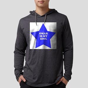 star-omar Mens Hooded Shirt