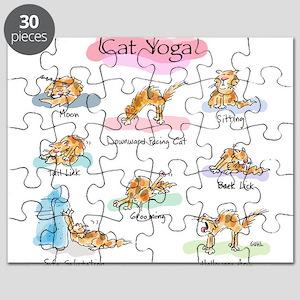 CAT YOGA POSES Puzzle