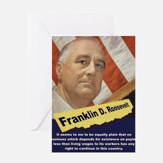 It Seems To Me - FDR Greeting Card