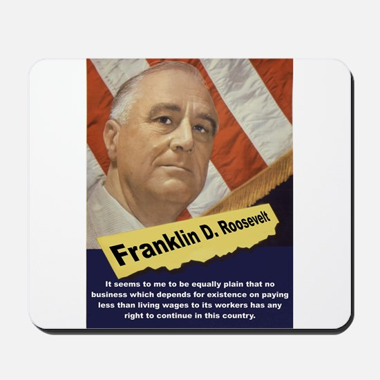 It Seems To Me - FDR Mousepad
