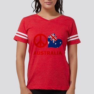 Peace Love Australia Womens Football Shirt