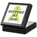 I Support My Dad Keepsake Box