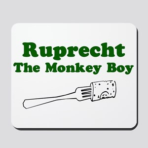 Ruprecht The Monkey Boy Mousepad
