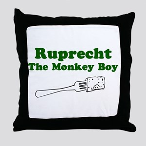Ruprecht The Monkey Boy Throw Pillow