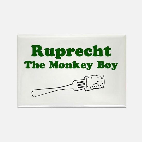 Ruprecht The Monkey Boy Rectangle Magnet