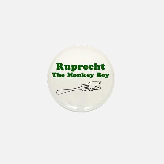Ruprecht The Monkey Boy Mini Button