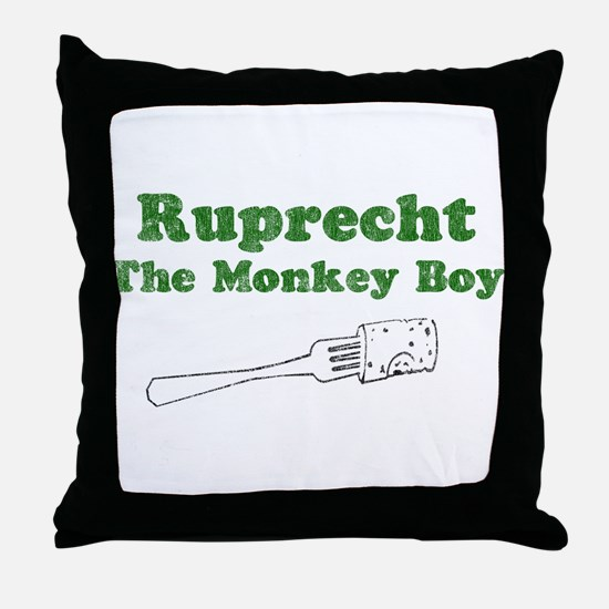 Ruprecht (Retro Wash) Throw Pillow