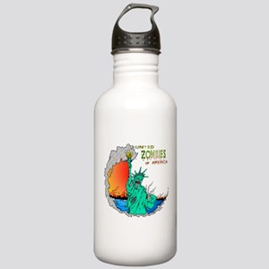 Zombies of America Stainless Water Bottle 1.0L