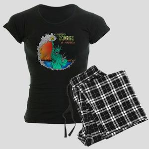 Zombies of America Women's Dark Pajamas