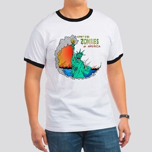 Zombies of America Ringer T