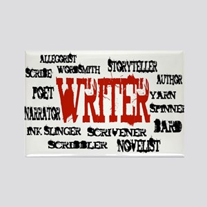 They call me Writer Rectangle Magnet