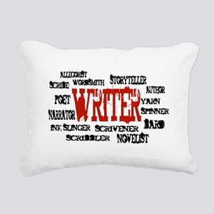 They call me Writer Rectangular Canvas Pillow